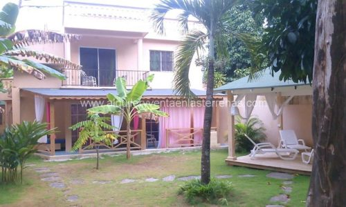 Hotel Jardín del Caribe, rent and sale in Las Terrenas